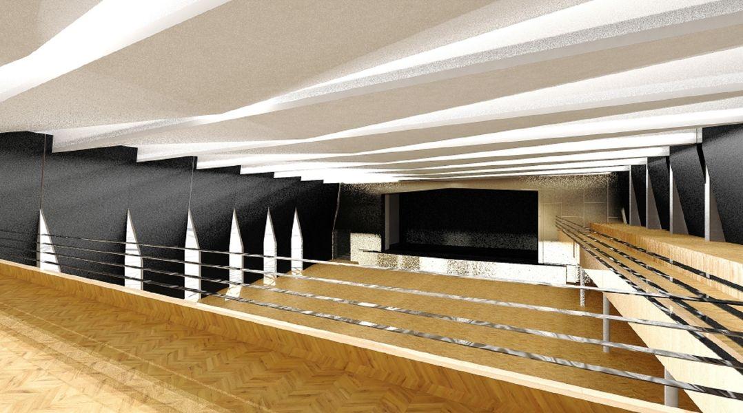 architektonická studie k DK, která byla předložena RM zdroj: mus