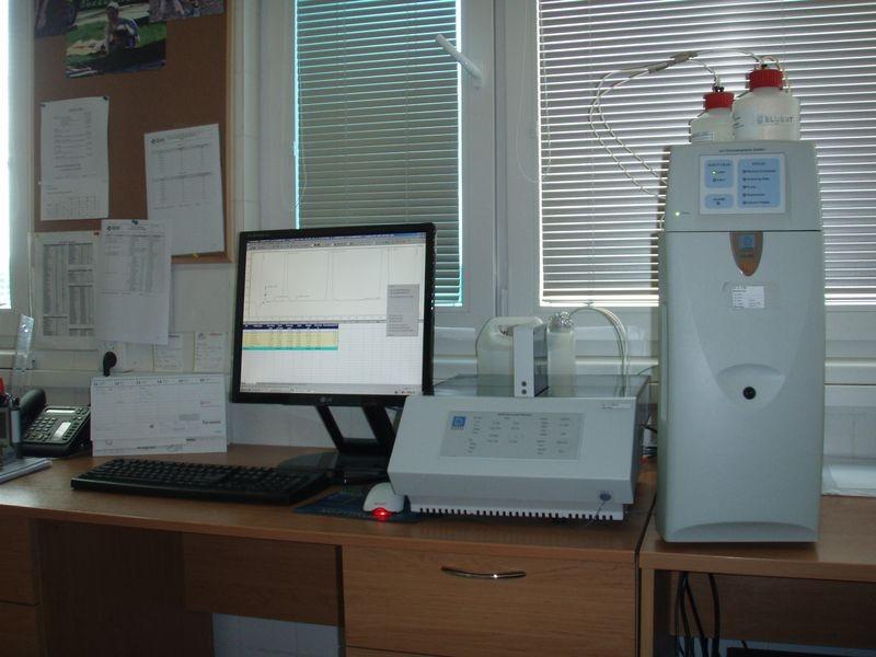 Zásobování vodou na Šumpersku - laboratoř zdroj foto: KS