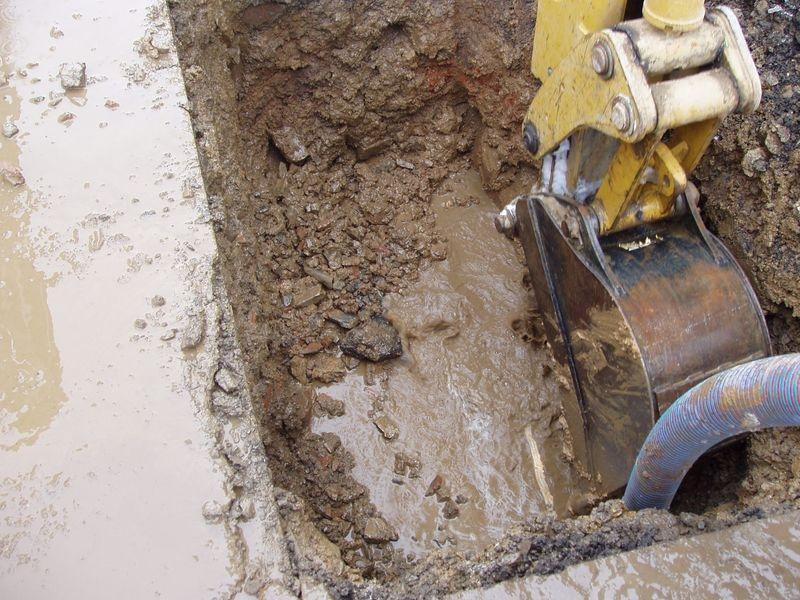 Zásobování vodou na Šumpersku - oprava zdroj foto: KS