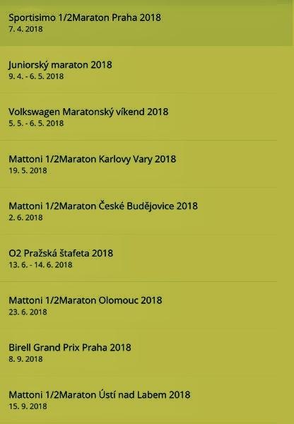 závody 2018 zdroj: RunCzech