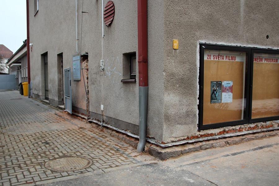 Šumperk - rekonstrukce kina Oko foto: šumpersko.net
