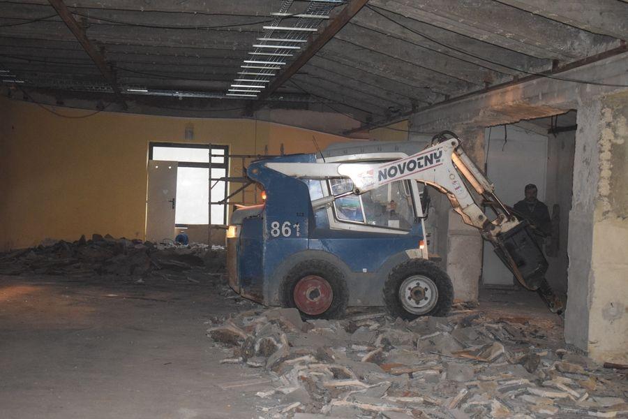 rekonstrukce šumperského biografu foto: K. Navrátil - ředitel kina Oko