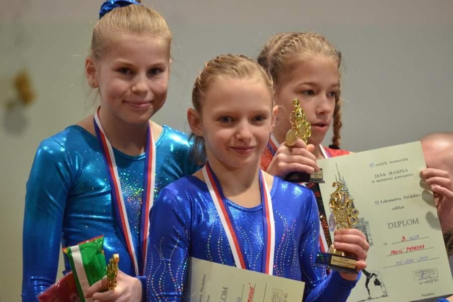 Pardubice bronzová děvčata zdroj foto: GK Špk
