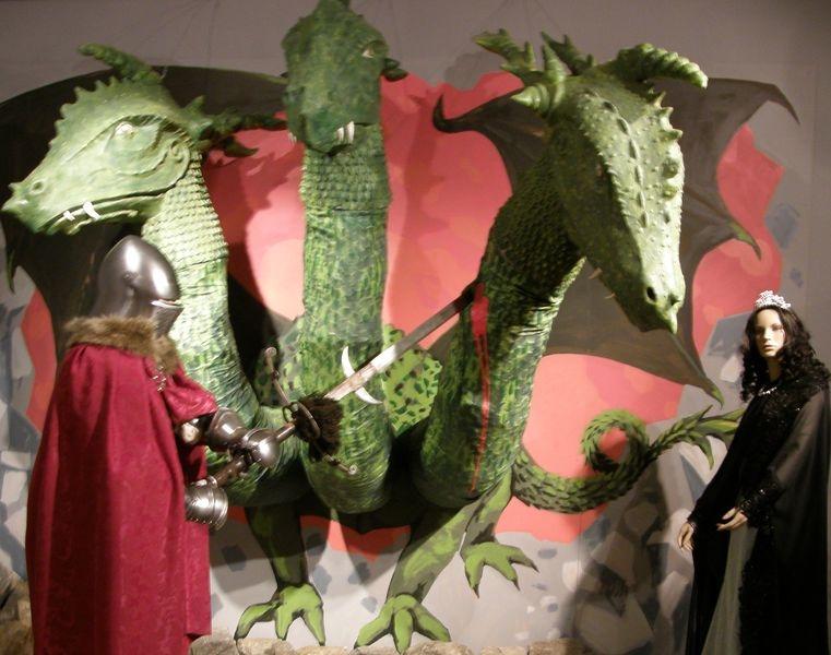 tříhlavý drak