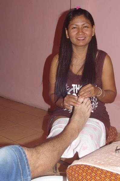 masáž nohou,foto:František Porteš
