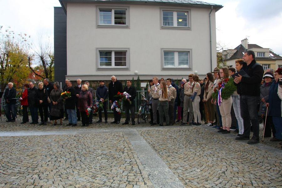 Oslavy 100. výročí založení samostatného československého státu v Šumperku zdroj foto: mus