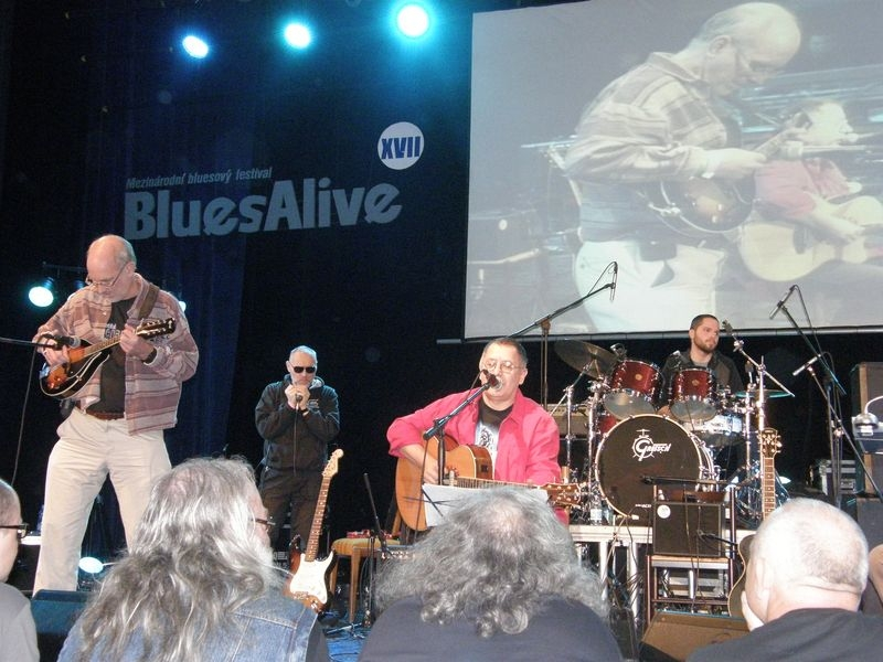 BluesAlive - sobotní odpoledne