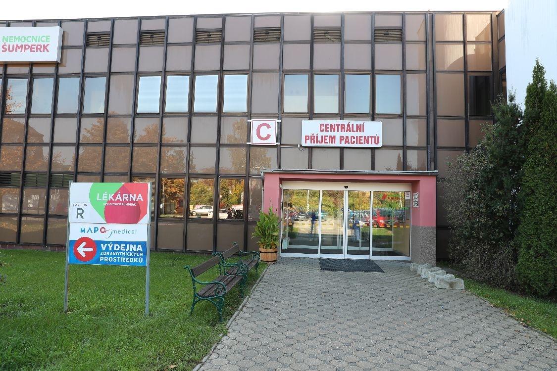Nemocnice Šumperk foto: archiv šumpersko.net - M. Jeřábek
