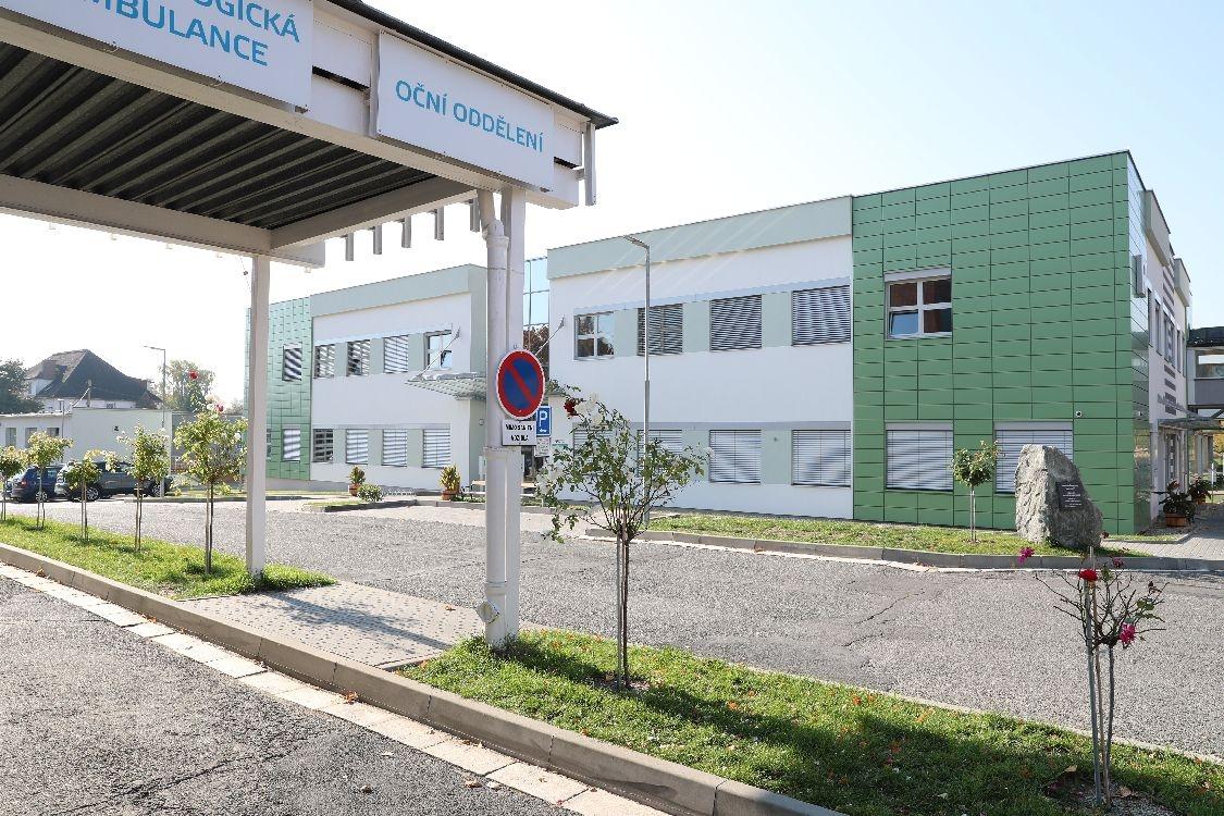 Nemocnice Šumperk - pavilon R foto: archiv šumpersko.net - M. Jeřábek