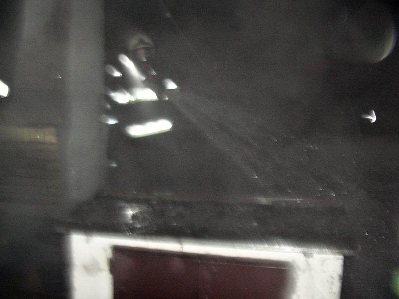 zásah hasičů u Křemačovského rybníka