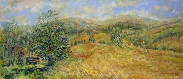 Krajina v Jeseníkách