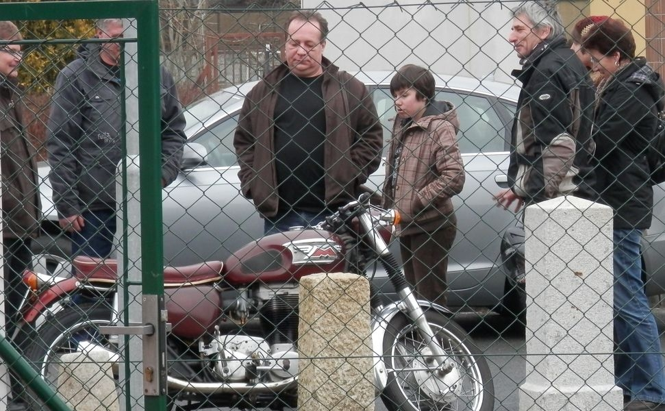 Historické motocykly zdroj foto:Muzeum silnic