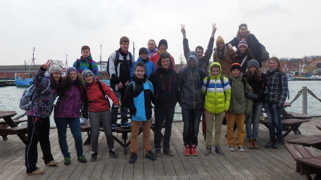 Jeseničtí studenti na ostrově Fyn