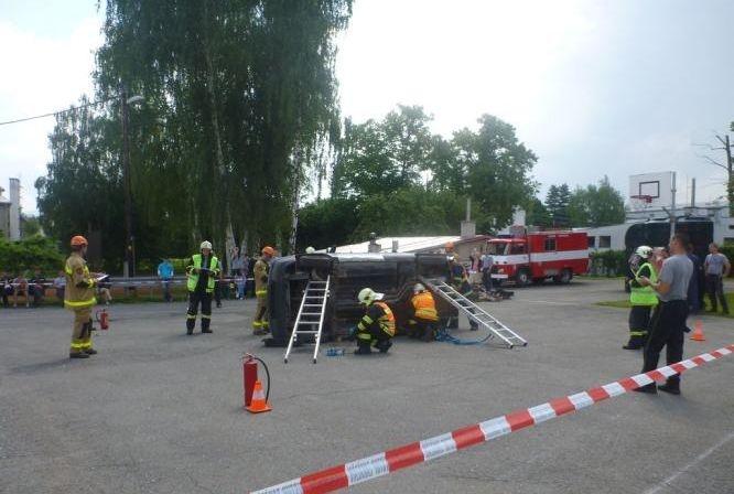 7 cvičení dobrovolných hasičů:foto:HZSOL,ÓU Šumperk