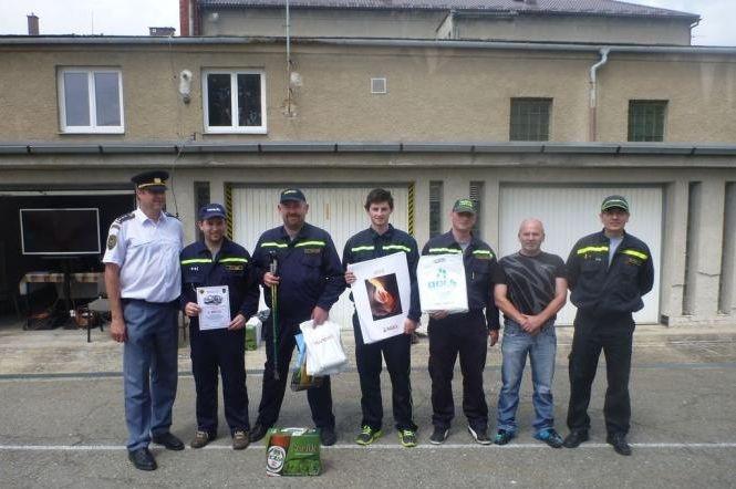 12 vyhodnocení cvičení dobrovolných hasičů:foto:HZSOL,ÓU Šumperk
