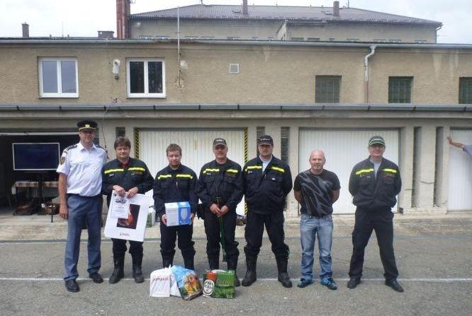 13 vyhodnocení cvičení dobrovolných hasičů:foto:HZSOL,ÓU Šumperk