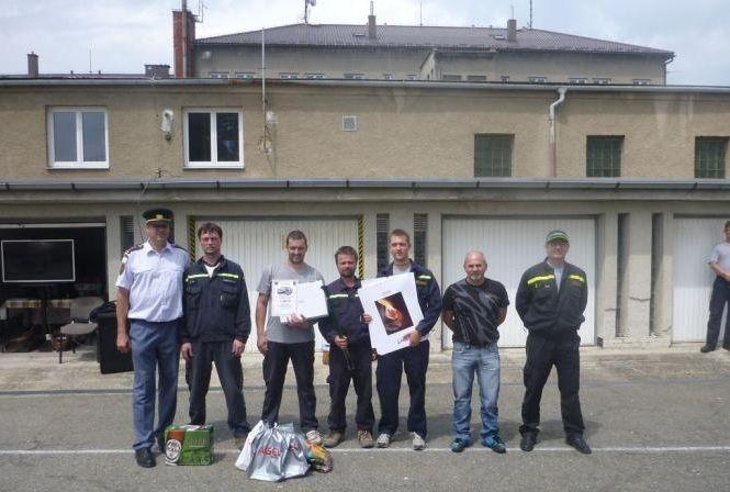 14 vyhodnocení cvičení dobrovolných hasičů:foto:HZSOL,ÓU Šumperk