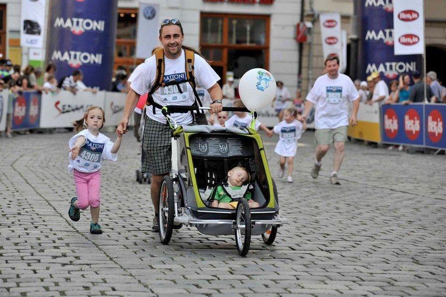 Rodinný běh - Olomouc 2012