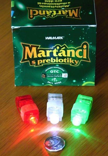 Marťánci - svítilničky