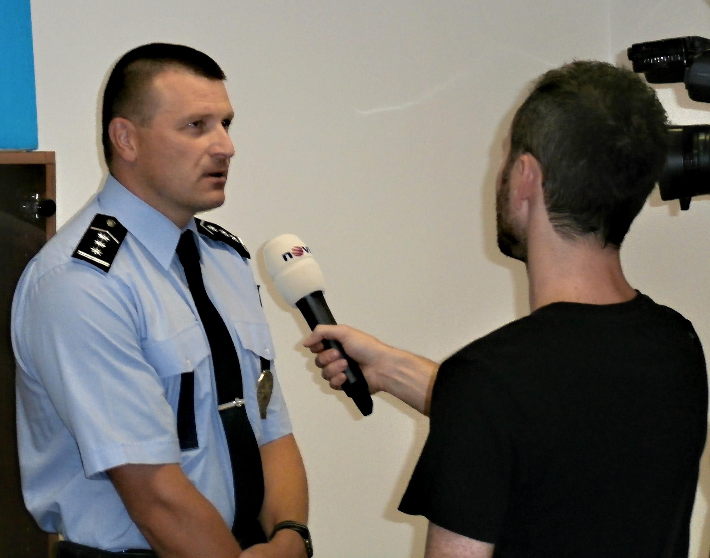 ředitel ÚO PČR Šumperk Libor Giesl