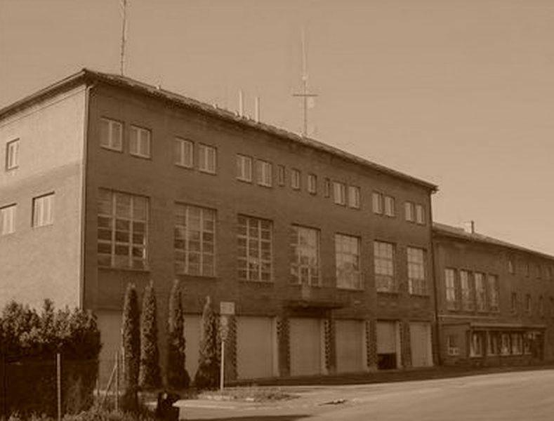 Šumperk - budova centrální požarní stanice