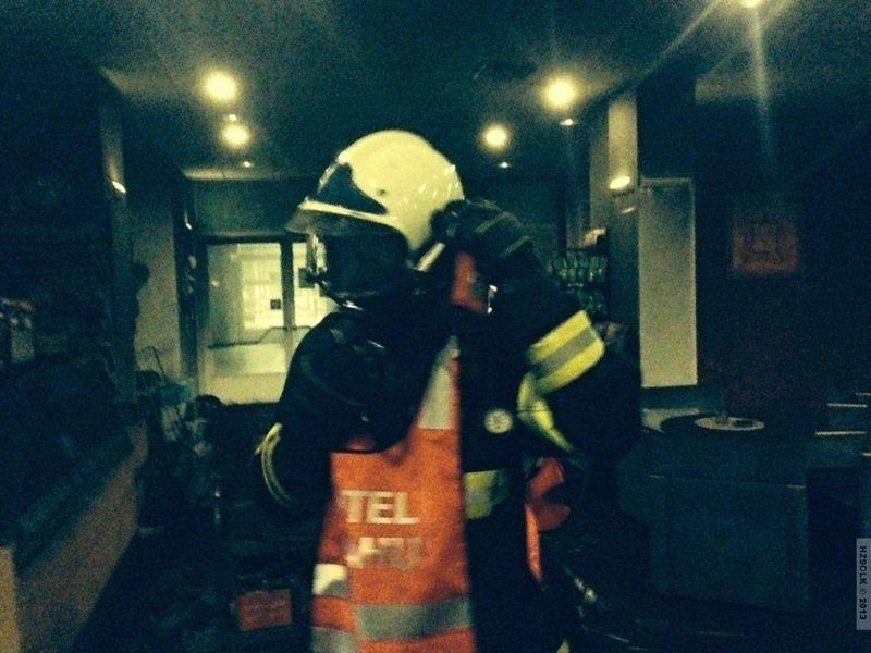 zásah hasičů v Prostějově