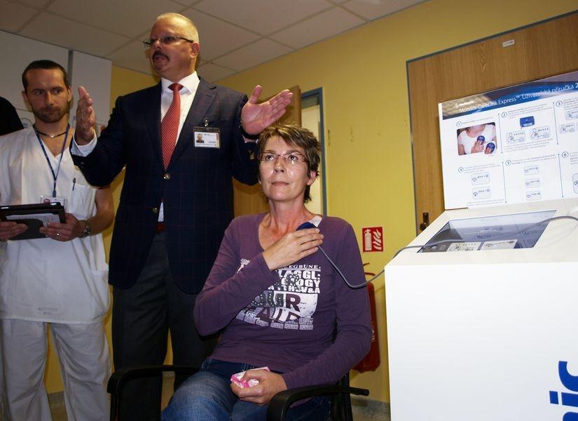 demonstrace služby v ambulanci kliniky