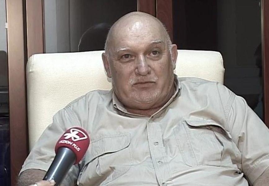 Milan Hulík v hlavních zprávách albánské televize