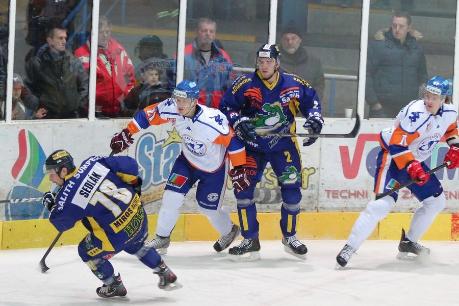 Salith Šumperk vs HC Stadion Litoměřice