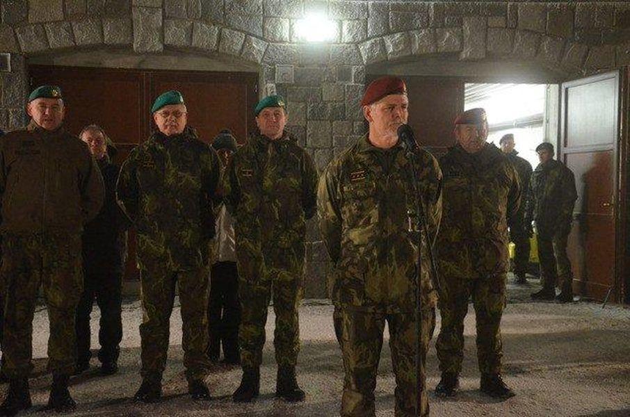 Generál Pavel pozdravil přítomné zdroj foto:Armáda ČR