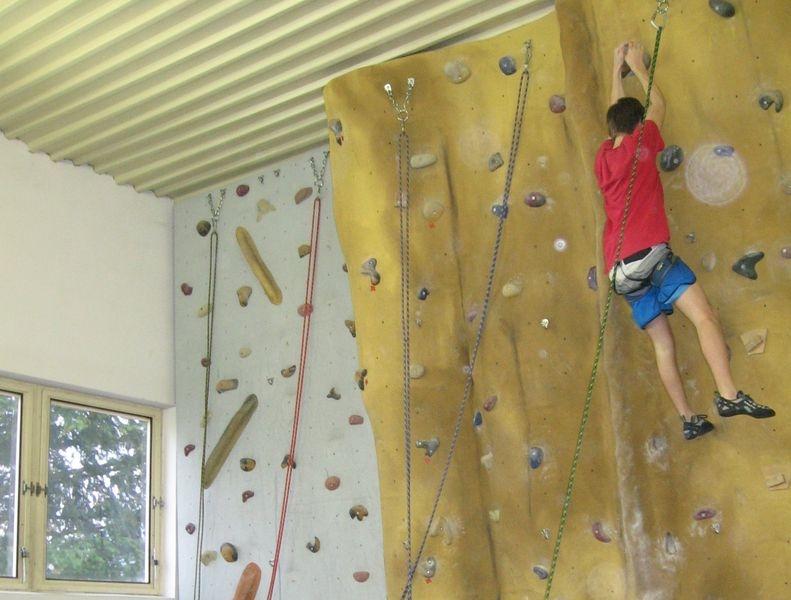 sportovní lezci v Šumperku