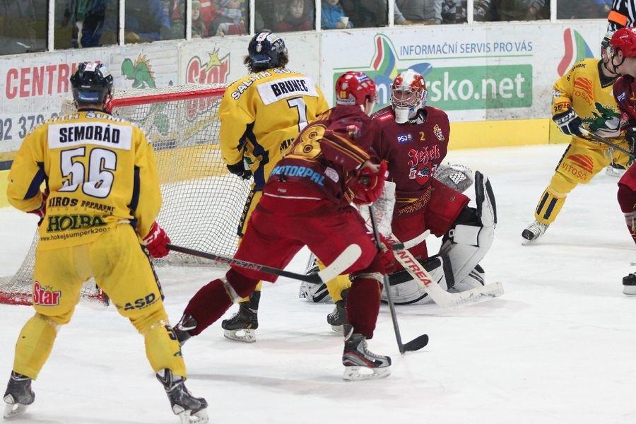 Salith Šumperk vs HC Dukla Jihlava