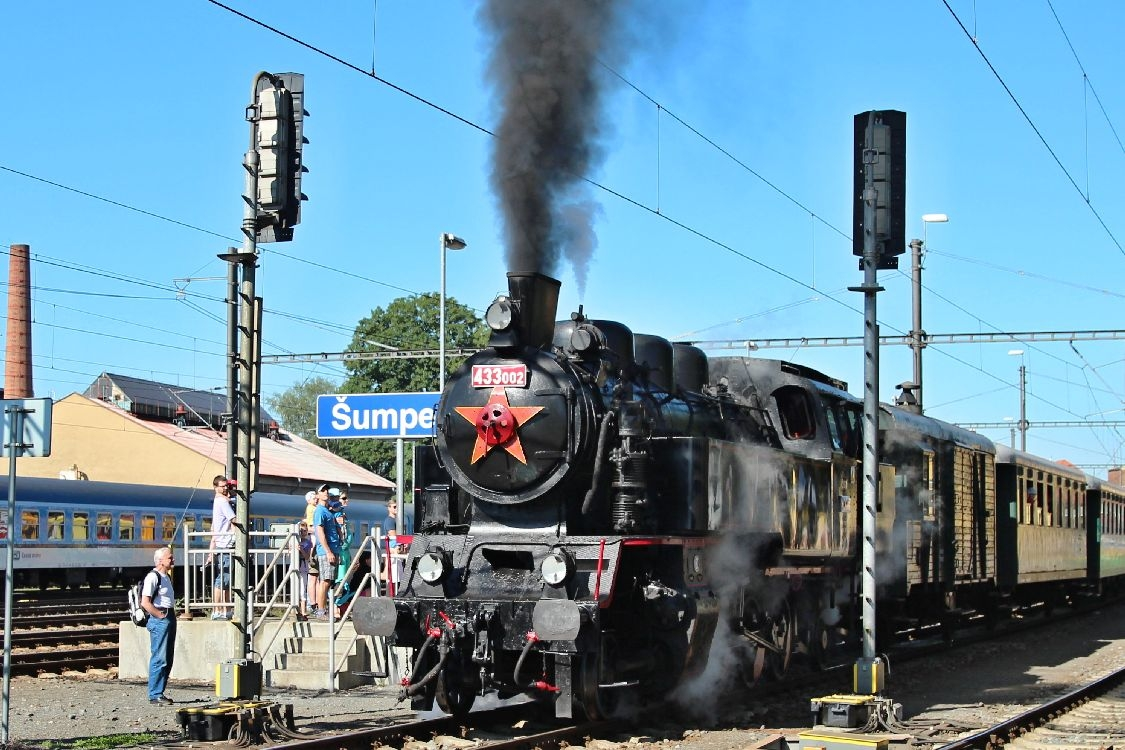 Oslavy 110 let úseku železnice Petrov n.D.-Kouty n.D.