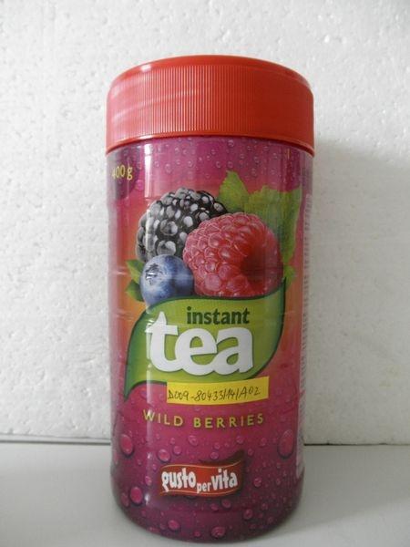 nevyhovující instantní čaj