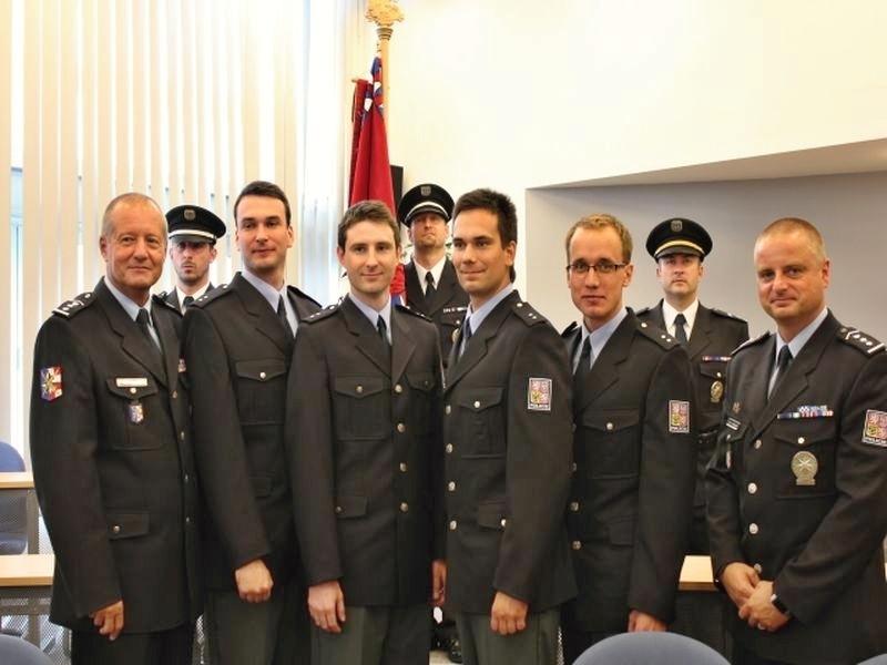 slavnostní akt - přijetí nových policistů zdroj foto:I.Urbánková
