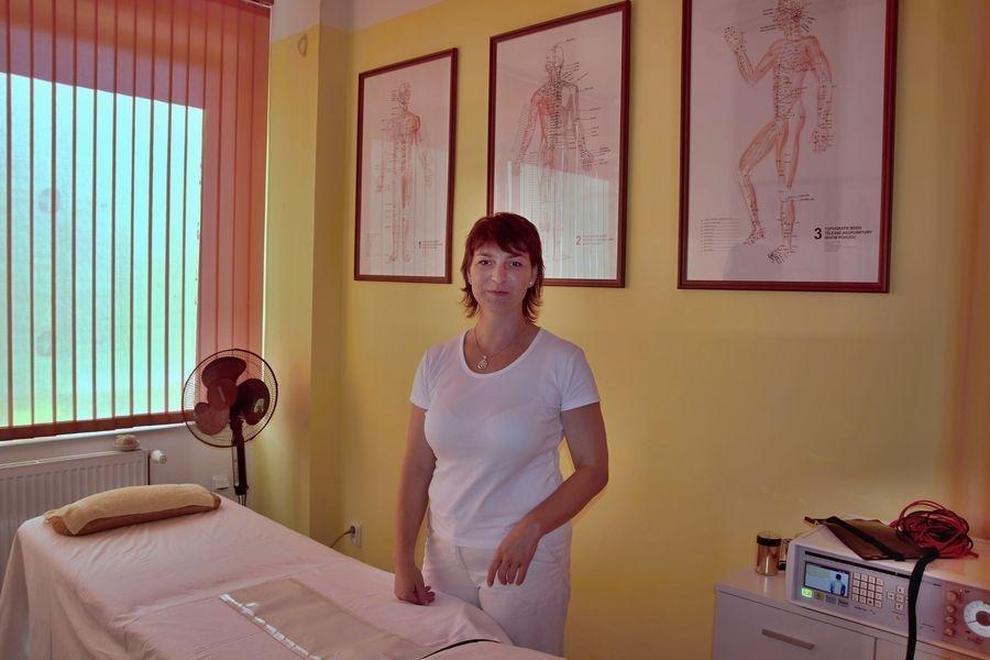 Lucie Tylové na svém pracovišti