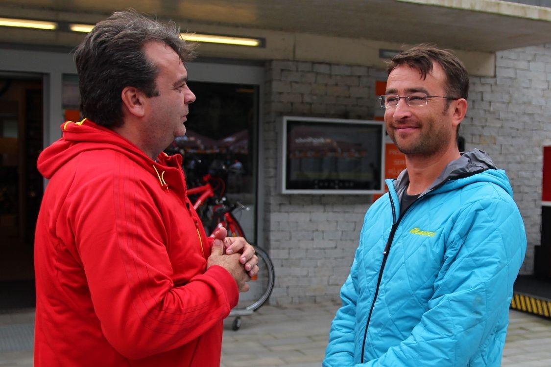 Tomáš Hrbáček vpravo