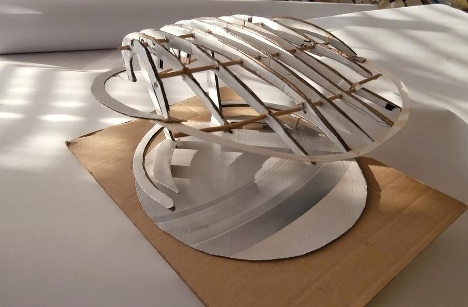 model altánu zdroj: architekt Jiří Valert
