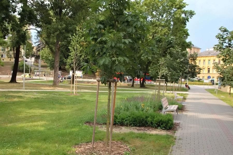 část parku prošla rekonstrukcí foto:sumpersko.net