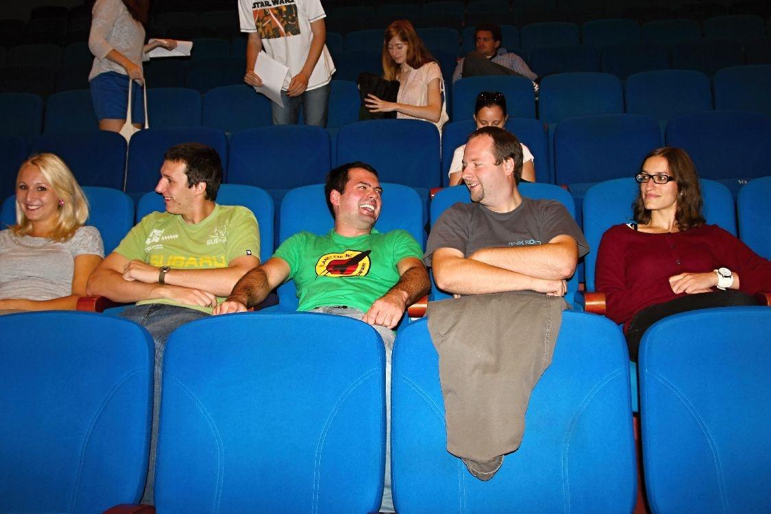 kino Oko - místo konání festivalu Filmová odysea