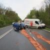 Havárie čtyř vozidel na Mohelnicku