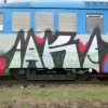Vandal na Šumpersku posprejoval vlak