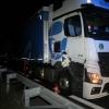 Nákladní vozidlo s návěsem na Mohelnicku nedobrzdilo