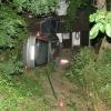 Řidičova rychlá jízda obcí Řepová skončila nárazem do domu