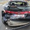 Střet osobního vozidla s autobusem v Šumperku