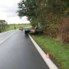 Řidič traktoru na Šumpersku se lekl protijedoucího vozidla