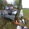 Víkendové dopravní nehody na Jesenicku si vyžádaly devět zraněných osob