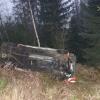 Řidič na Jesenicku kvůli srně strhl řízení