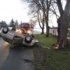 Řidička v Postřelmově čelně narazila do stromu