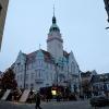 FOTO. Vánoční nálada obstoupila historickou budovu šumperské radnice